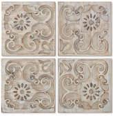 Graham & Brown Moroccan 4-Pc. Light Wood Panel Wall Art