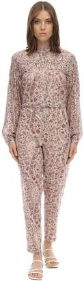 Etoile Isabel Marant Liddy Cotton Jumpsuit