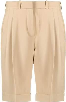 Racil High-Waisted Pleated Shorts