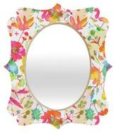 DENY Designs Decorative Wall Mirror Blushing