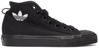 adidas Black Nizza Hi Sneakers