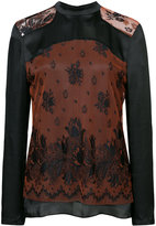 Creatures of the Wind lace panelled blouse