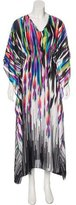 Natori Printed Maxi Dress w/ Tags