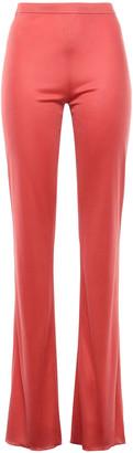 Emilio Pucci Silk-jersey Bootcut Pants