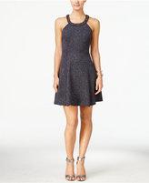 Betsy & Adam Petite Embellished A-line Dress