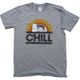 Peanuts Snoopy Chill Assorted Mens Graphic Shirt