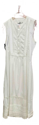 Ohne Titel White Cotton Dress for Women