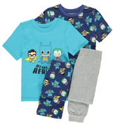 Batman George DC Comics and Robin 2 Pack Pyjamas