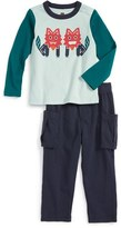 Tea Collection Infant Boy's Shisa T-Shirt & Pants Set