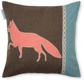 "Madura Forest Fox Decorative Pillow Cover, 16"" x 16"""