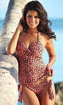 Hapari Swimwear Hapari Cheetah Twist Tankini
