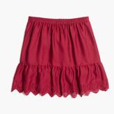 Madewell Duskway Eyelet Skirt
