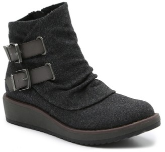 Blowfish Cocoa Wedge Bootie