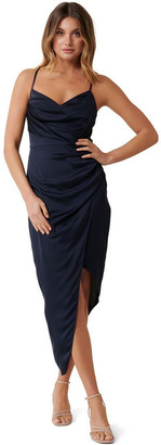 Forever New Kahlia Asymmetric Cowl Neck Dress