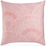 Charter Club Damask Designs Pima Cotton Poppy Patchwork Medallion-Print European Sham, Created for Macy's