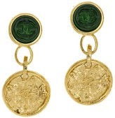 Chanel 95A Dangle Gripoix Earrings