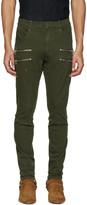 Faith Connexion Green Zipper Trousers