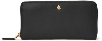 Ralph Lauren Leather Continental Zip Wallet
