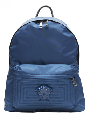 Versace Blue Leather Bags