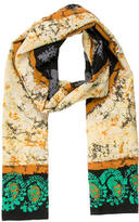 Yigal Azrouel Silk Abstract Scarf