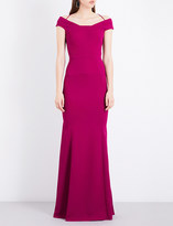 Roland Mouret Kirkby crepe gown