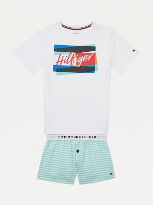 Tommy Hilfiger Back to School Short Pyjama Set