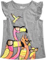 Epic Threads Little Girls Bird-Print T-Shirt, Created for Macy's