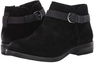 Clarks Demi Tone (Black Suede) Women's Boots