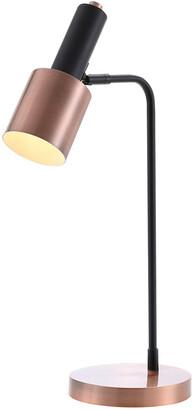 Jonathan Y Designs Brady 22In Metal Led Task Table Lamp