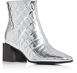Sigerson Morrison Women's Mandel Block-Heel Booties