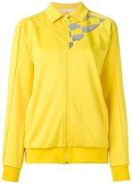 Golden Goose Deluxe Brand racing flag zipped sweatshirt