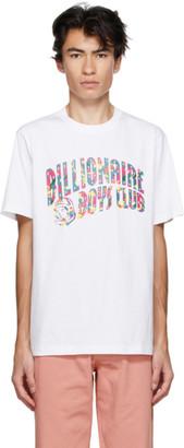 Billionaire Boys Club White Confetti Arch Logo T-Shirt