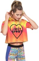 Juicy Couture Tie Dye Splash Cropped Pullover