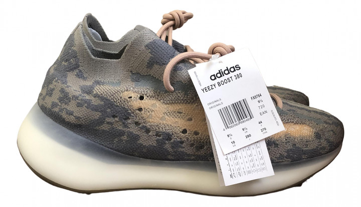 Yeezy X Adidas Boost 380 Beige Rubber Trainers