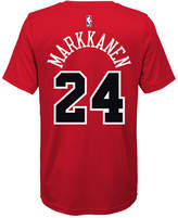 Nike Lauri Markkanen Chicago Bulls Icon Name & Number T-Shirt, Big Boys (8-20)