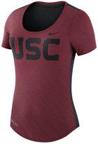 Nike Women's USC Trojans Dri-Blend Scoop T-Shirt
