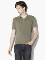 John Varvatos Soft Collar Peace Polo