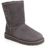 UGG Classic Short Genuine Sheepskin Lined Boot (Toddler & Little Kid)