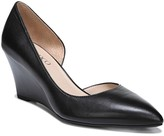 Franco Sarto Felice Leather d'Orsay Wedge Pump - Wide Width Available