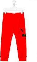 Stone Island Junior - classic sweatpants - kids - Cotton - 2 yrs