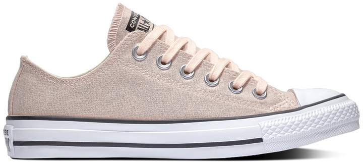 6351a0c37bbe6 Chuck Taylor All Star Ox Metallic Low Top Trainers