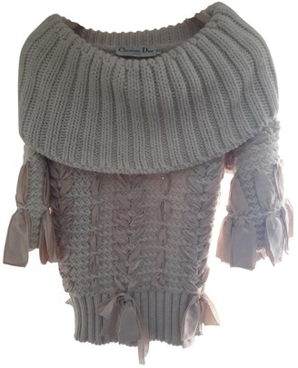 Christian Dior Beige Silk Knitwear for Women