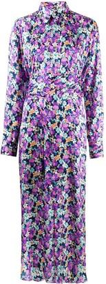 Plan C Floral Print Dress