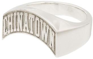 Hatton Labs x Chinatown Market signet ring