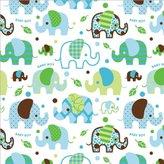 Cindus 76-052 Gift Wrap, 5-Feet x 30-Inch, Baby Boy