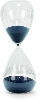 Bey-Berk Hand-Blown Crystal Sand Timer Hourglass (90 minute)