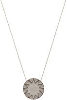 House Of Harlow Pave Sunburst Necklace