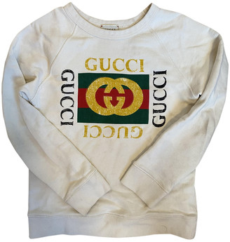Gucci Beige Cotton Knitwear
