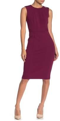 Donna Morgan Epaulet Woven Tank Dress
