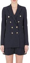 Lanvin Women's Pinstriped Wool Double-Breasted Jacket